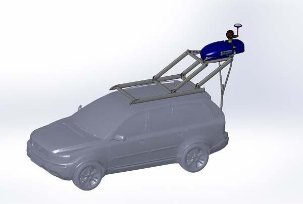 GeoTracker roof mount
